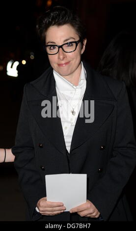 London UK, 15th Oct 2013 : Sue Perkins arrive at the Attitude Magazine Awards 2013 at the Royal Courts of Justice. - Stock Photo