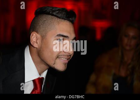 London UK, 15th Oct 2013 : Louis Smith arrive at the Attitude Magazine Awards 2013 at the Royal Courts of Justice. - Stock Photo