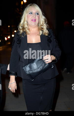 London UK, 15th Oct 2013 : Shelley Smith arrive at the Attitude Magazine Awards 2013 at the Royal Courts of Justice. - Stock Photo