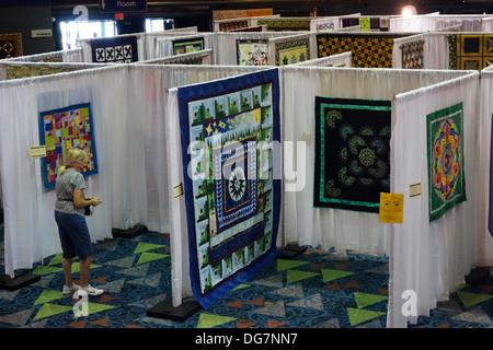 quilt show - Stock Photo