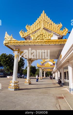 Nyaung U Airport, Mandalay Division, Myanmar, Asia - Stock Photo