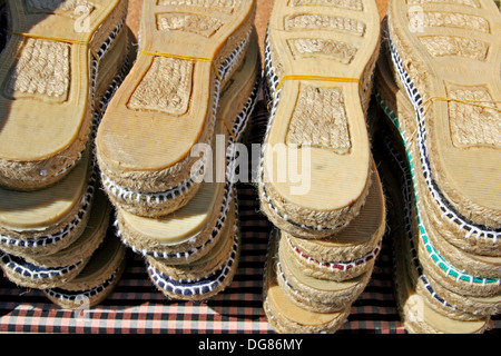 7db476e480d8 hemp sandals Stock Photo  61646514 - Alamy