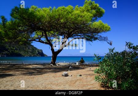 İztuzu Beach, Dalyan, Turkey. - Stock Photo