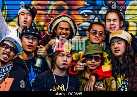 bangkok punks - Stock Photo