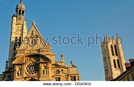 the Sorbonne University  Paris  France - Stock Photo