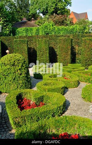 garden david and alice van buuren museum brussels belgium stock photo 24474266 alamy. Black Bedroom Furniture Sets. Home Design Ideas