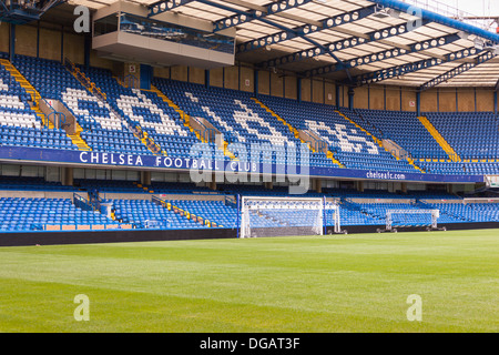 The Shed End, Chelsea Football Club, Stamford Bridge, Chelsea, London, England - Stock Photo