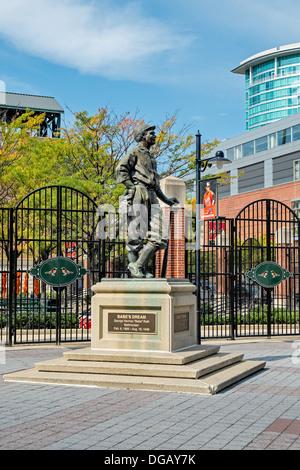 Oriole Park Baseball Stadium Camden Yards - Stock Photo
