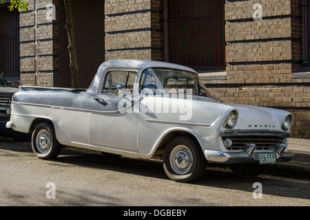 Old, early model Holden utility (ute) pickup truck: an Australian automotive icon - Stock Photo