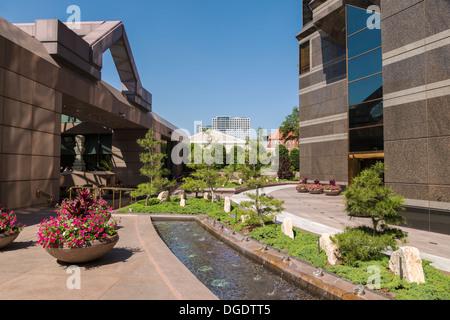 Crow Collection of Asian Art Museum Dallas Texas USA - Stock Photo