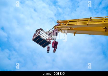 mobile crane - Stock Photo