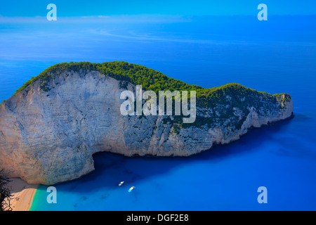 Shipwreck Beach, Zakynthos (Zante), Greece - Stock Photo