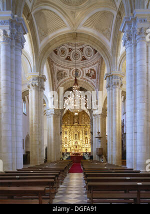 Cathedral, Baeza. Jaén province, Andalusia, Spain - Stock Photo
