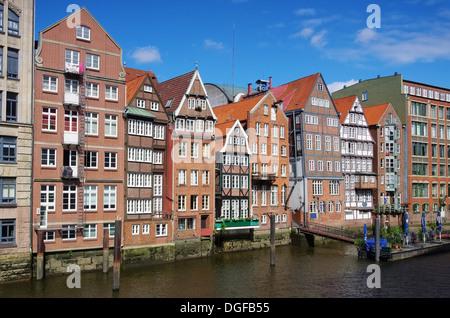 Hamburg Nikolaifleet 01 - Stock Photo