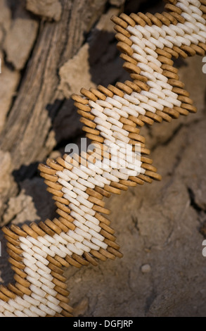 Ostrich shell jewellery - Stock Photo