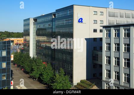 Technisches Rathaus der Stadt Oberhausen in Sterkrade, ehemals Verwaltung der Gutehoffnungshuette und der MAN GHH, - Stock Photo
