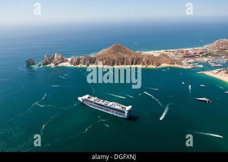 Cruise Ship At Cabo San Lucas Cabo San Lucas Baja