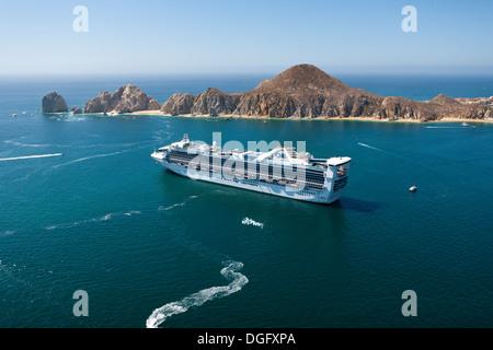 Cruise Ship At Cabo San Lucas Cabo San Lucas Baja California Sur Stock Photo 61815872 Alamy