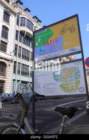 France Europe French Paris 2nd arrondissement Rue Réaumur city planning capital improvements sign logo information France130816017