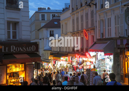 Apartment buildings on rue de sevres paris france stock photo royalty free i - Place saint pierre paris ...