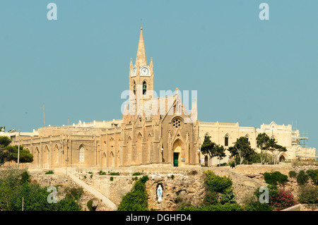Lourdes Chapel at Mgarr, Gozo, Malta - Stock Photo