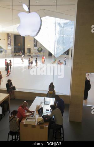 Carrousel Du Louvre Underground Shopping Mall Paris Stock