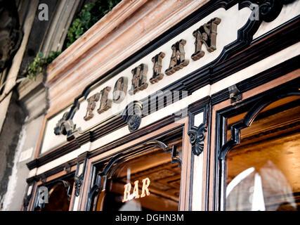 Caffè Florian on St. Mark's Square, Venice, Veneto, Italy, Europe - Stock Photo