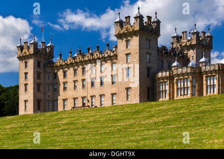 Floors Castle, Kelso, Scottish Borders, Scotland, United Kingdom - Stock Photo