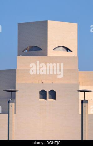 Museum of Islamic Art, Corniche, Doha, Qatar, Middle East - Stock Photo