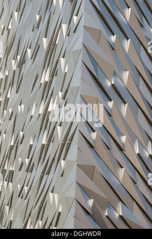 Titanic Museum, Belfast, Northern Ireland, United Kingdom, Europe, PublicGround - Stock Photo