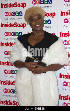 London, UK. 21 October 2013. Actress Lorna Laidlaw at the Inside Soap Awards sponsored by Mecca. Photo: Nick Savage/Alamy - Stock Photo