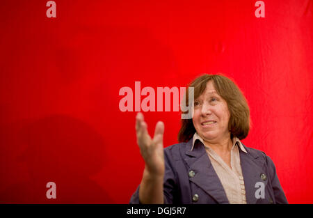 Swetlana ALEXIJEWITSCH, Weissrussland, Schriftstellerin, Preistraegerin Friedenspreis des Deutschen Buchhandels - Stock Photo