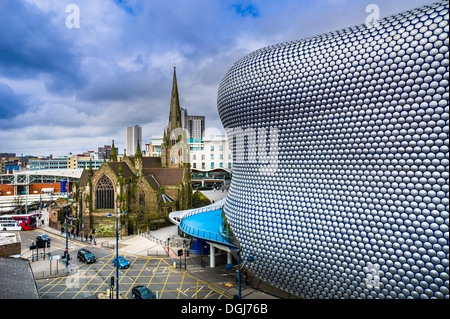 Selfridges building in Birmingham. - Stock Photo