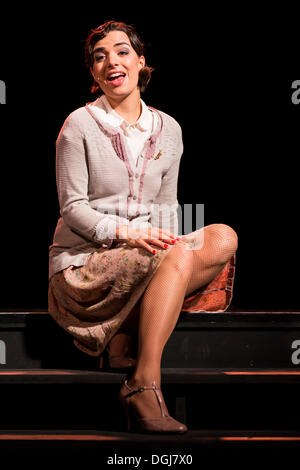 The musical Chicago with Annette Krossa as Roxie Hart live at the Le Théâtre theatre, Luzern, Switzerland, Europe - Stock Photo