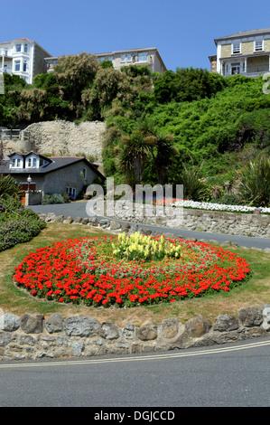 Ventnor Cascade Gardens, Ventnor, Isle of Wight, England - Stock Photo
