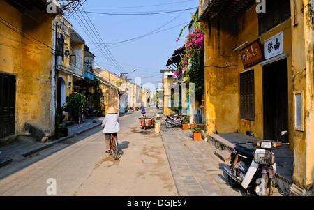 Street scene, Hoi An, Vietnam, Southeast Asia - Stock Photo