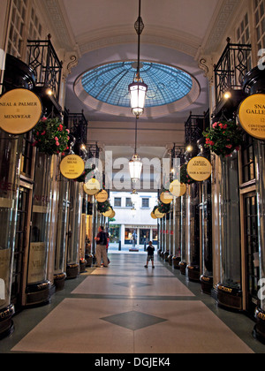 Piccadilly Arcade, St James's, West End, London, England, United Kingdom - Stock Photo