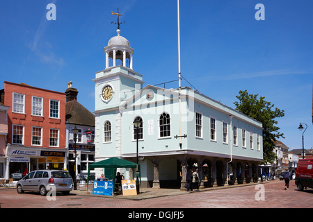 Guildhall in Faversham. - Stock Photo