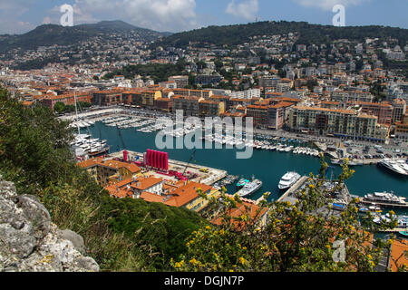 Port, Nice, Cote d'Azur, France, Europe - Stock Photo