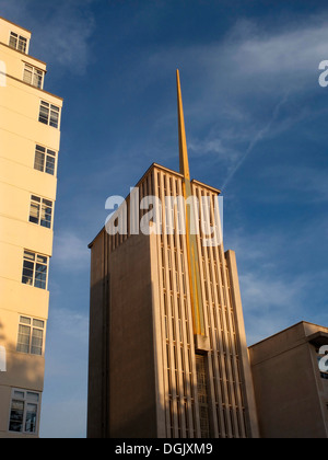 The Church of Jesus Christ of the Latter-Day Saints in South Kensington. - Stock Photo