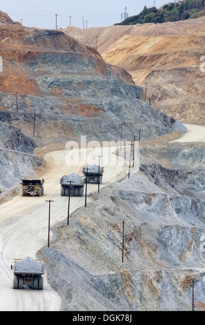 Kennecott Copper Mine near Salt Lake City in Utah. - Stock Photo
