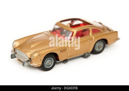 James Bond '007' Aston Martin DB5 replica by Corgi Toys - Stock Photo