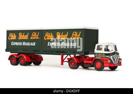 Eddie Stobart Ltd replica model truck by Corgi - Stock Photo