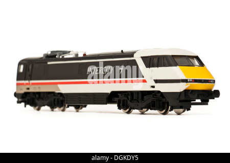 Vintage Hornby Railways 'Intercity 225' model railway locomotive (R824) - Stock Photo