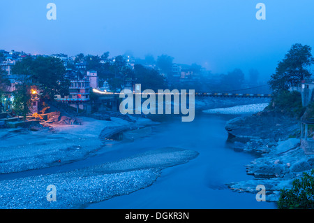 Bridge over River Beas. - Stock Photo