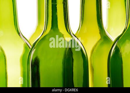 Empty bottles, recycling - Stock Photo