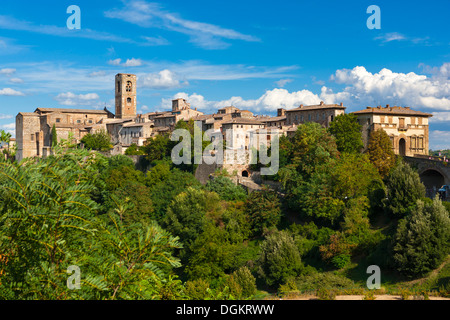 A view towards Colle di Val d'Elsa. - Stock Photo