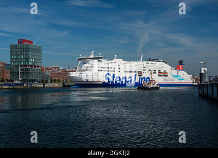 stena line kiel ferry port baltic sea schleswig holstein germany stock photo royalty free. Black Bedroom Furniture Sets. Home Design Ideas