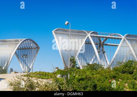 Arganzuela Bridge in Madrid city, Spain, Europe - Stock Photo