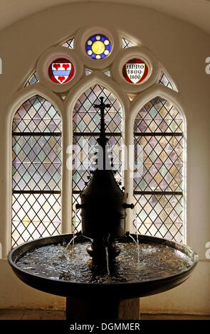 Kloster Luene abbey, historic well house, Lueneburg, Lower Saxony - Stock Photo